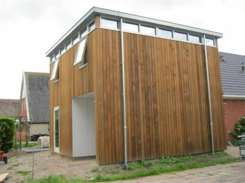 Aanbouw woning Frieschepalen